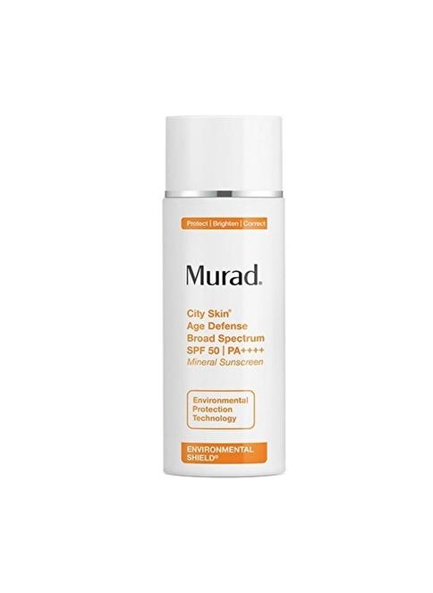 Murad City Skin Age Defense SPF50 - Anti Aging Etkili Mineralli Gündüz Bakımı Renksiz